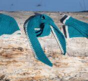 Cascade scarf collection